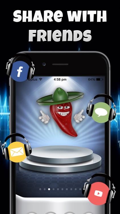Talking Emoji Voice Changer Free - Crazy Helium Booth Fake Modifier Generator screenshot-3