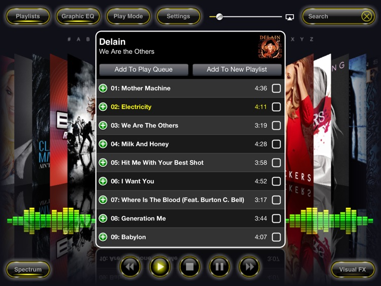 Reflection Music Player screenshot-1