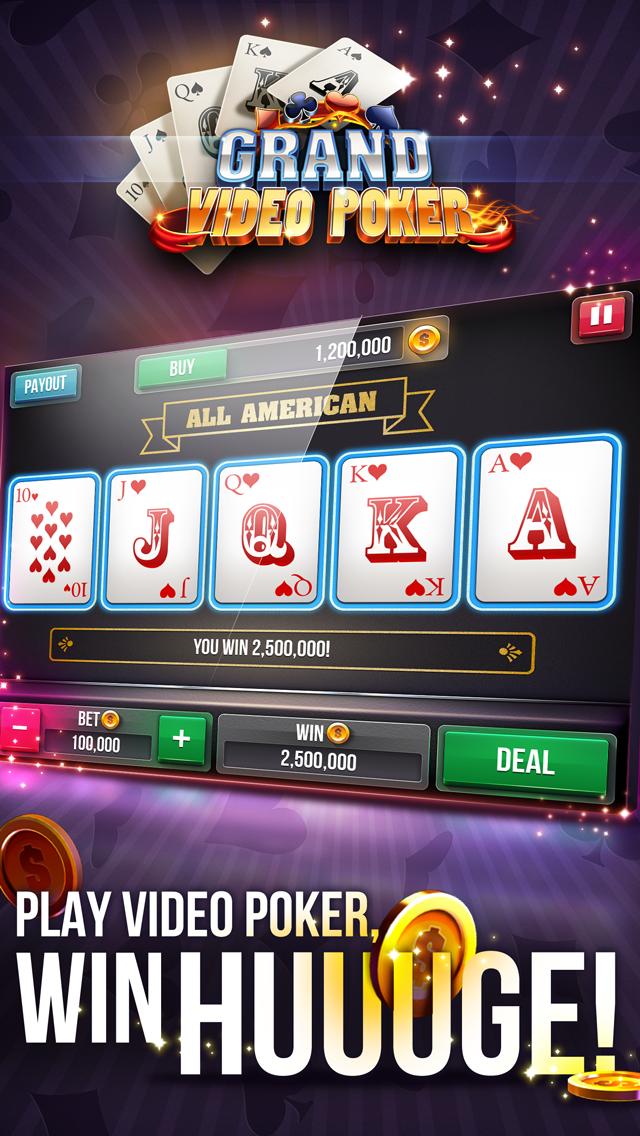 Grand Video Poker Screenshot