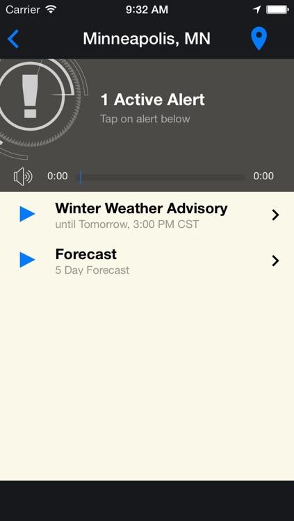 FLASH Weather Alerts screenshot-4