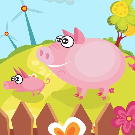 Игра для детей 2-5 лет Смешные приложение о животных на ферме