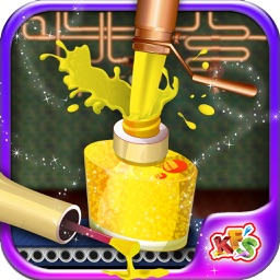Princess Makeup Kit Factory – Make parlor products in this beauty salon game for kids