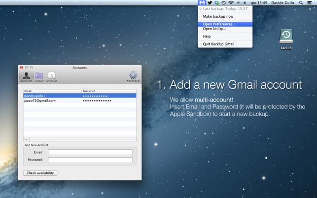 Gmail backup: tool to download google emails to hard drive for.