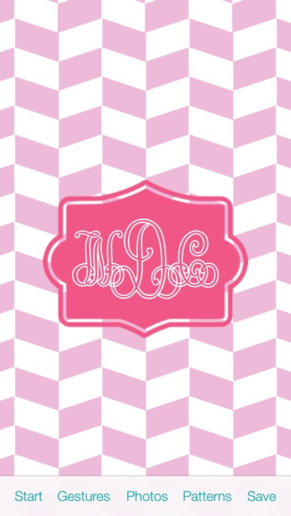 The Monogram by WayDC - DIY background & wallpapers create custom fonts & app icons for home & lock screen themes skin design art maker screenshot-1