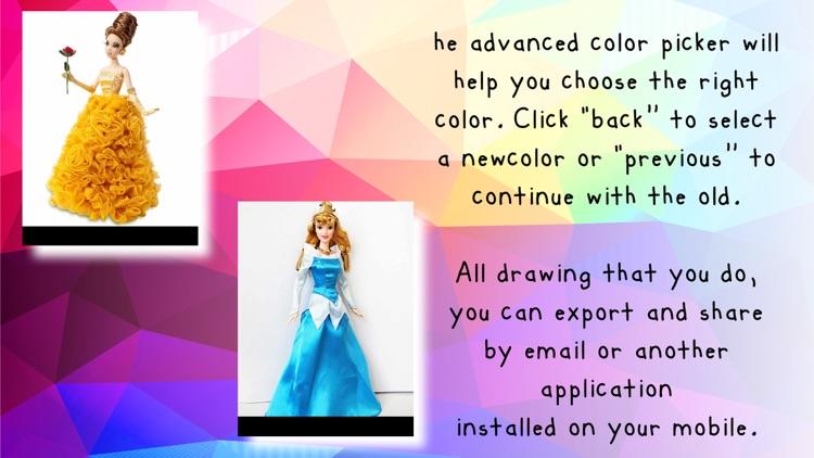 Paint On Photos Princess screenshot-3
