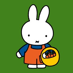 Miffy in the garden