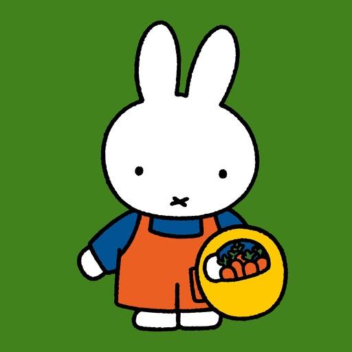 Miffy in the garden