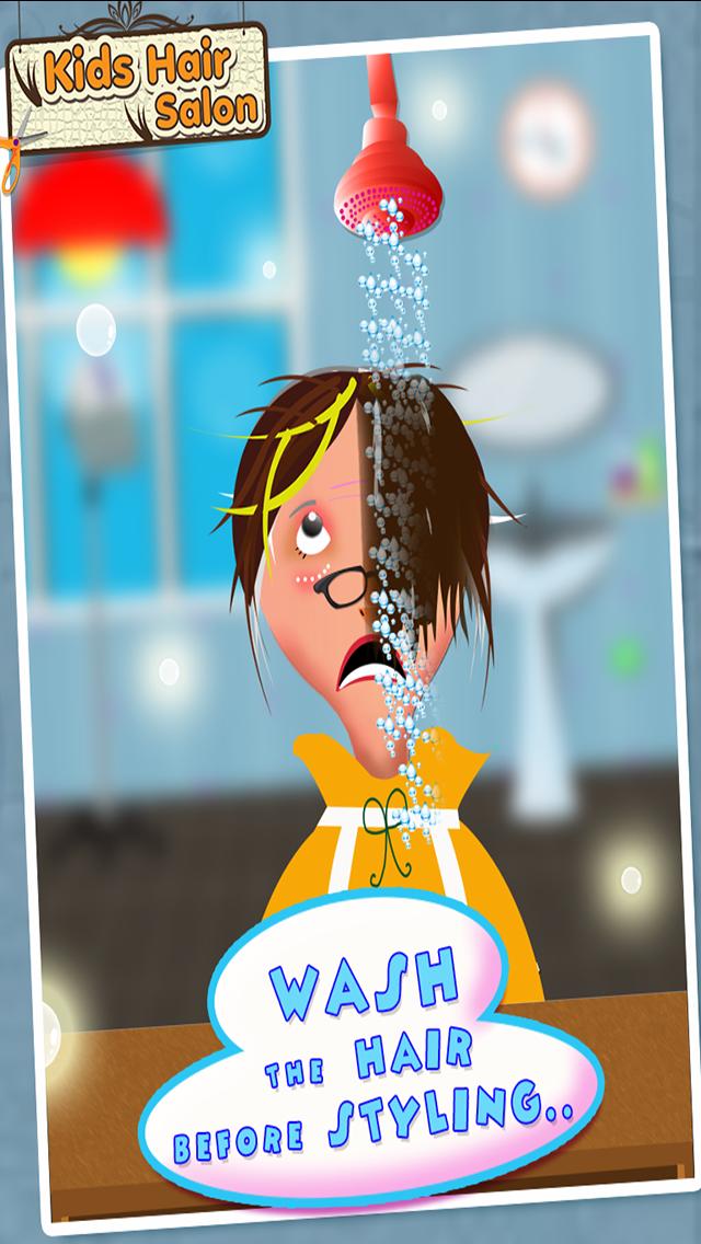 ヘアーサロン - 子供ファッションサロンのように有名なヘアスタイルメーカーを再生するのおすすめ画像1