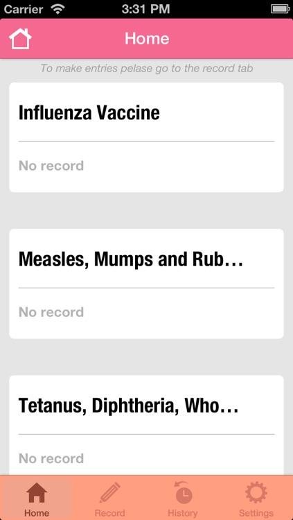 Women's Health Diary 2 screenshot-3
