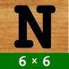 数字のパズル 6X6 - 無料ゲーム - iPadアプリ