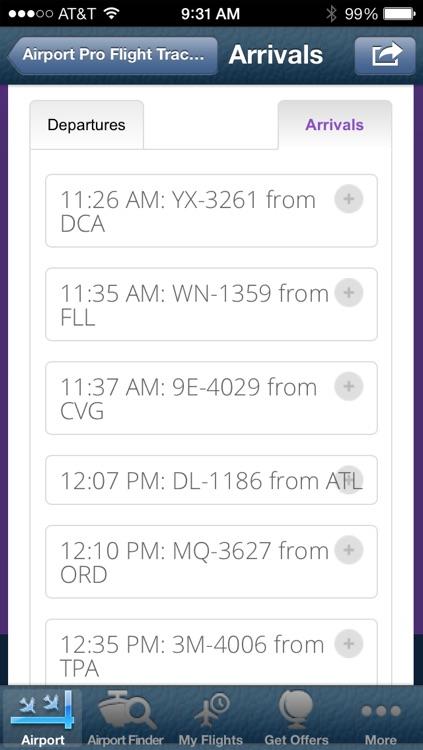 Jacksonville Airport + Flight Tracker screenshot-3