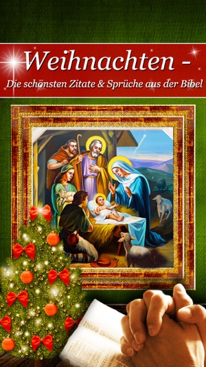 Weihnachten - Die schönsten Zitate & Sprüche aus der Bibel im App Store