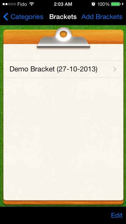 Bracket Maker - Tournaments Manager & Fixture Maker Pro By CS SPORTS