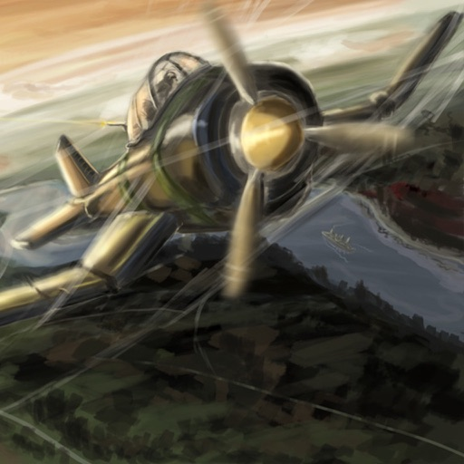 WW2 Fighter 3D - Endure endless waves of planes and blimps!