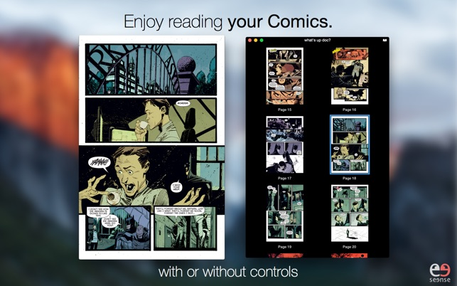 2. Simple Comic