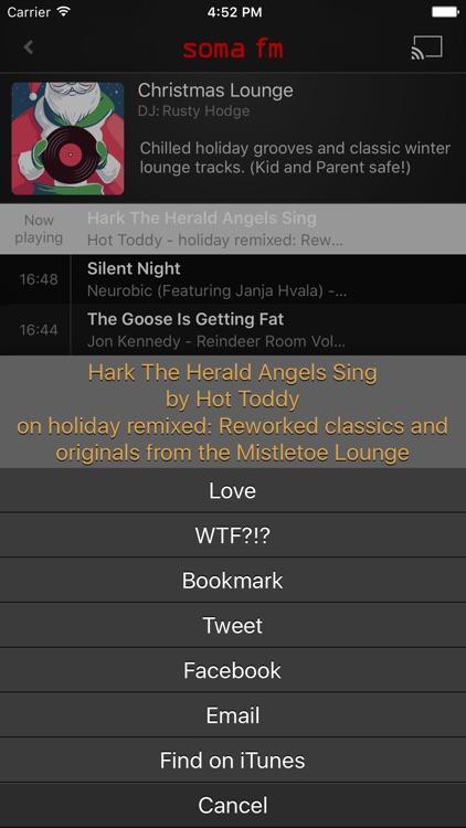 SomaFM Holiday Radio screenshot-3
