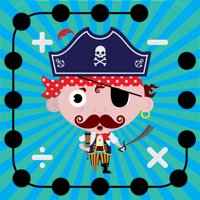 Codes for Math Dots(Pirates): Connect To The Dot Puzzle / Kids Pirate Flashcard Drills for Adding & Subtracting Hack