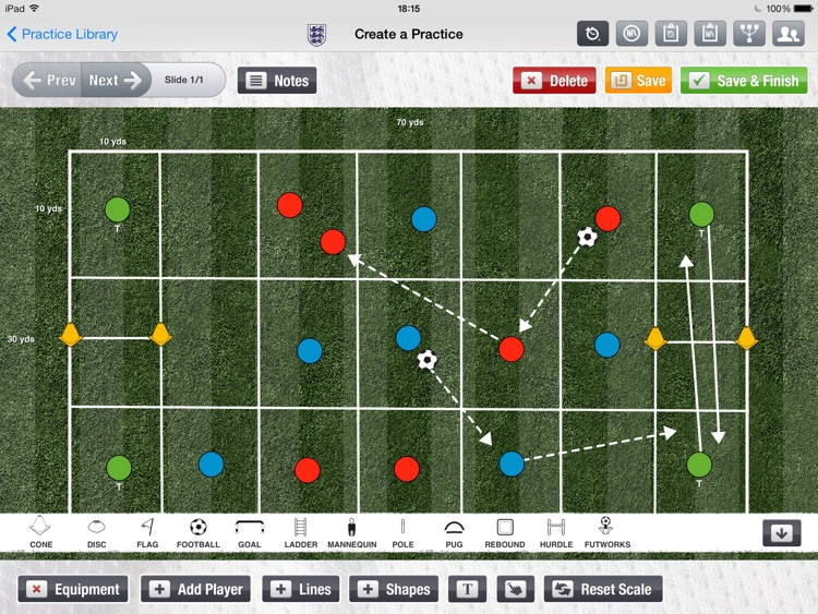 i-Drills Football screenshot-1