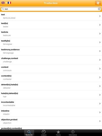Словарь 20 языков обычных слов Скриншоты9