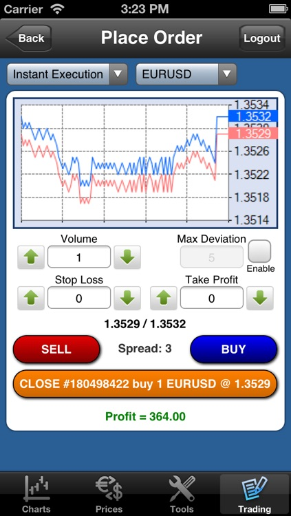 Forex On The Go Lite screenshot-3