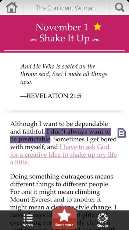 The Confident Woman Devotional screenshot-2