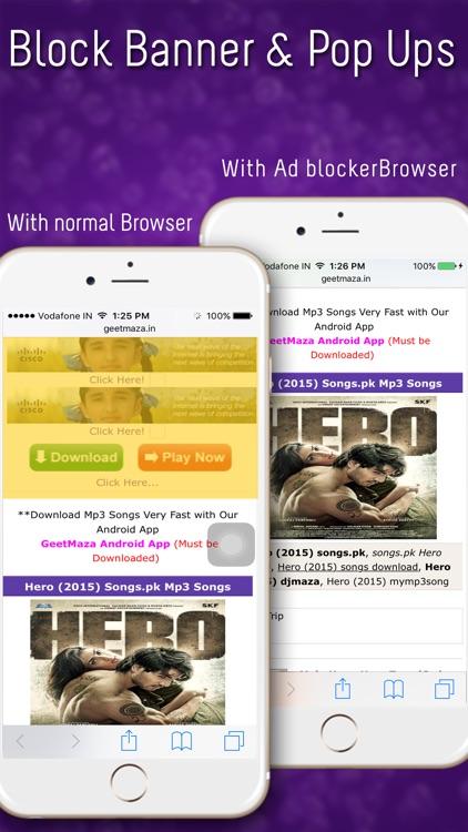 Ad-Blocker for Safari - Block ads, tracking scripts, anything screenshot-3