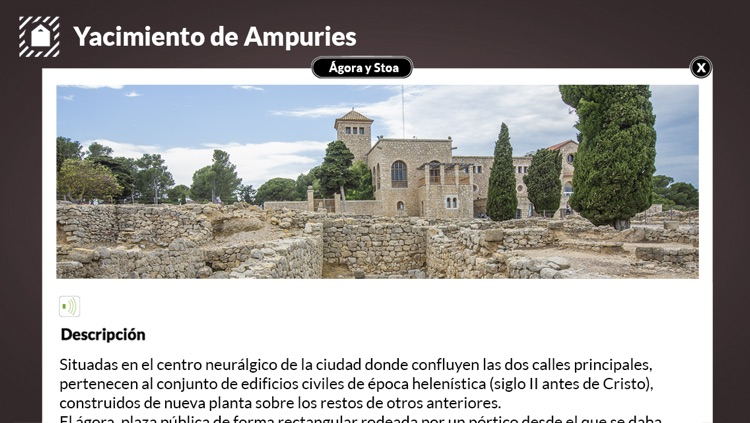 Greco-Roman city of Ampurias