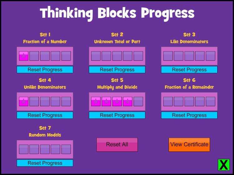 Thinking Blocks Fractions screenshot-3