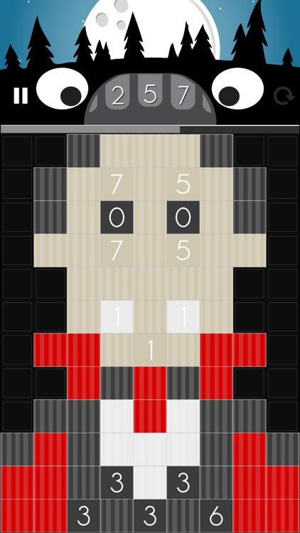 The Unknown Number: Halloween - Puzzle Math Arcade Game