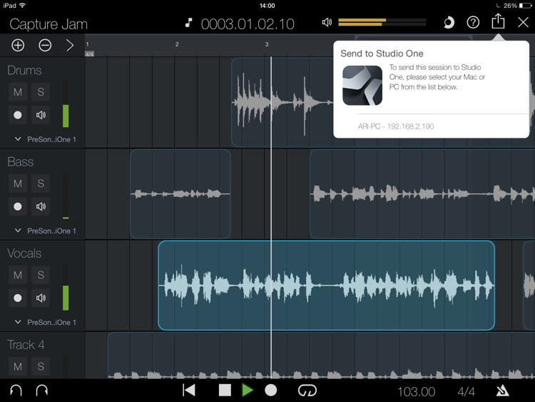 PreSonus Capture screenshot-2