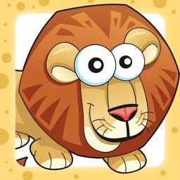 Savannah animals game for children age 2-5: Train your skills for kindergarten, preschool or nursery school