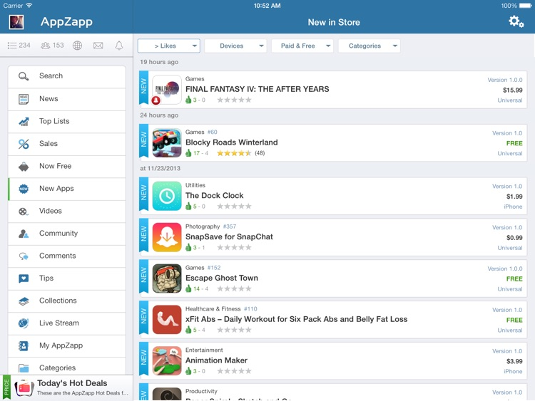 AppZapp HD Pro - daily new Apps, best hot deals & free Apps screenshot-4