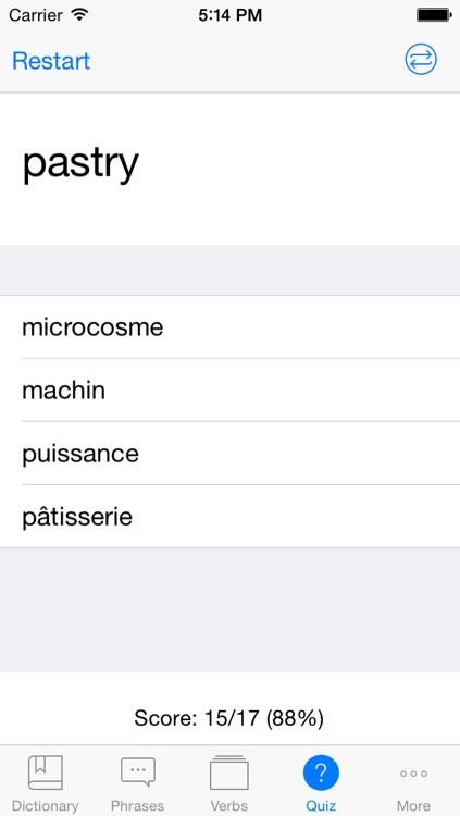 French English Dictionary + Freemium screenshot-4