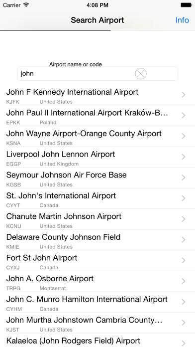 Airport-Map screenshot three