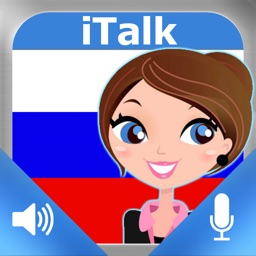 iTalk Russian: Conversation guide - Learn to speak a language with audio phrasebook, vocabulary expressions, grammar exercises and tests for english speakers HD