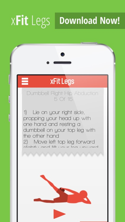 xFit Legs – Daily Workout for Tight Sculpted Thighs, Calves and Butt Muscles screenshot-4