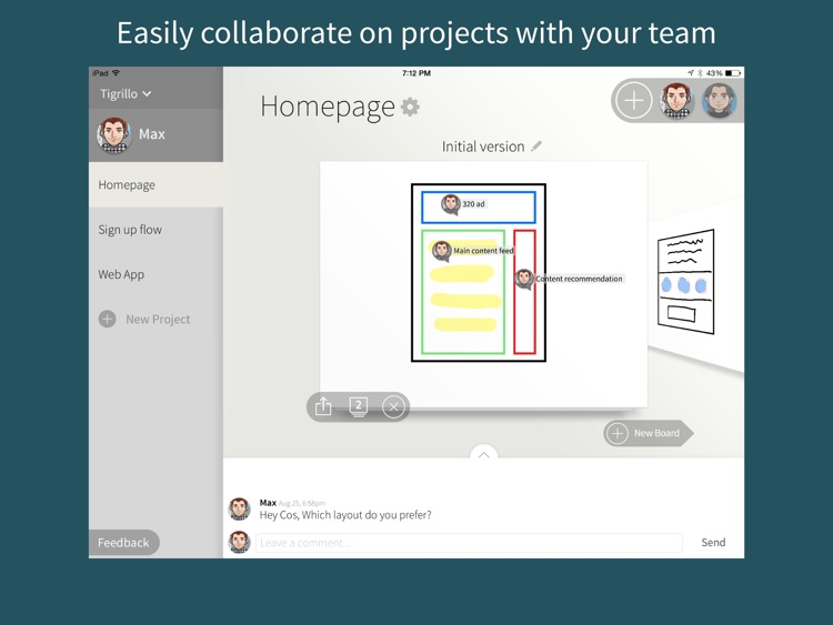 Quill - Collaborative Drawing and Wireframing for Teams screenshot-0