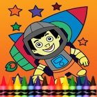 Rockets Coloring Book for Kid Games icon