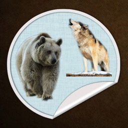 Stickers - Wolves and Bears