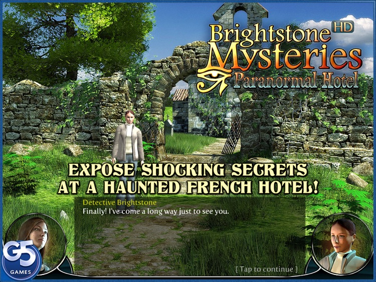 Brightstone Mysteries: Paranormal Hotel HD (Full) screenshot-0