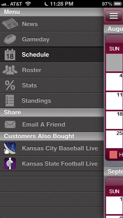 Kansas City Football Live screenshot-3