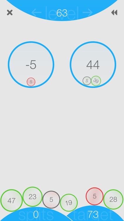 Split: A Numbers Game screenshot-4
