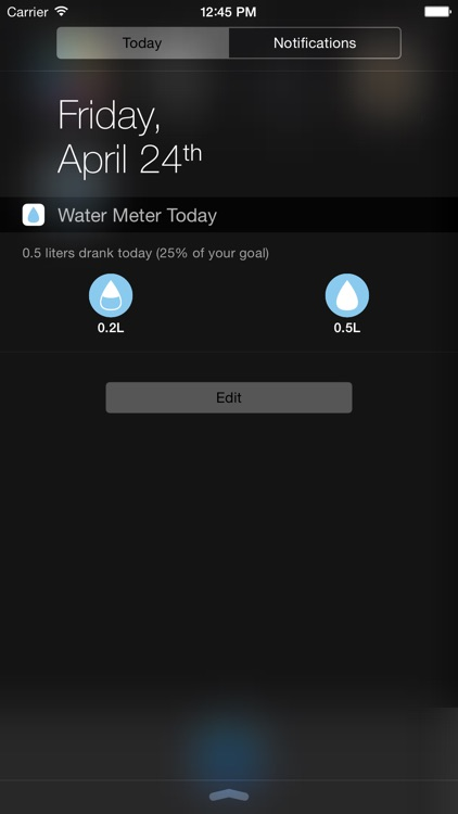 Drink Meter - Measure your Daily Drink right from your Apple Watch and your iOS Device screenshot-3