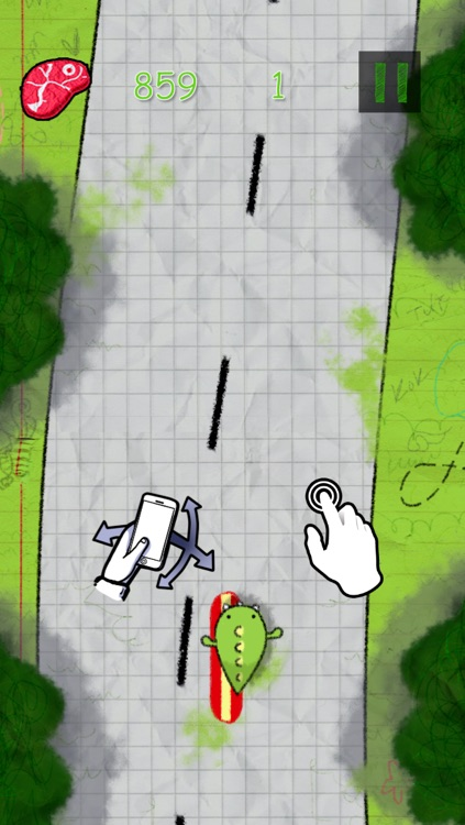 Doodle Dino - Racing to the Kingdom - Free Mobile Edition