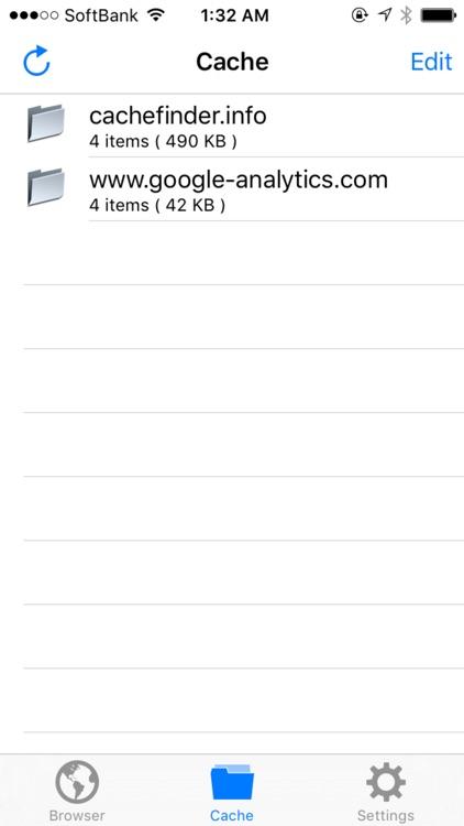 Browser Cache Saver - CacheFinder screenshot-4