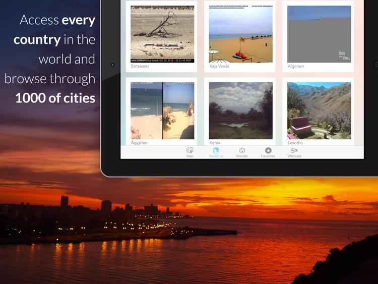 Webcam Atlas - Live travel destination webcams for your next vacation screenshot-4