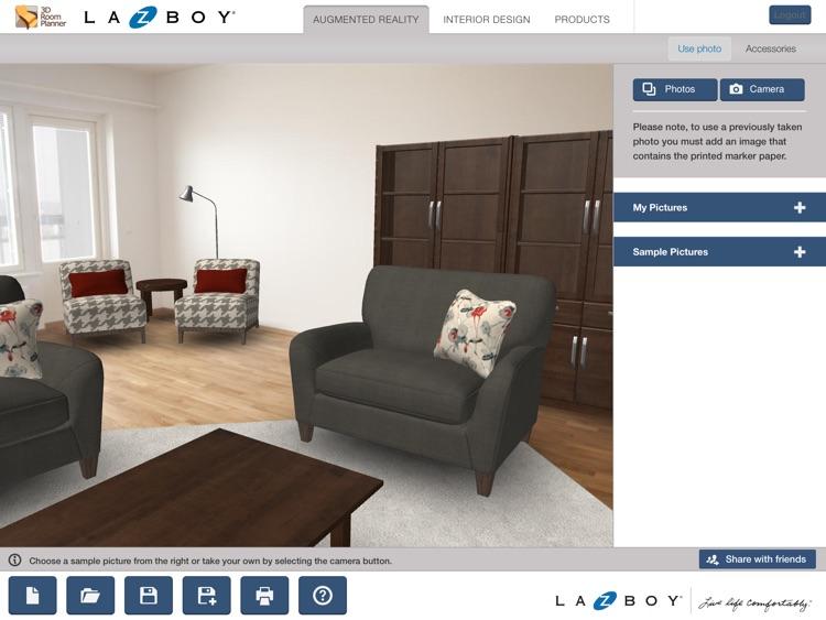 La-Z-Boy 3D Room Planner