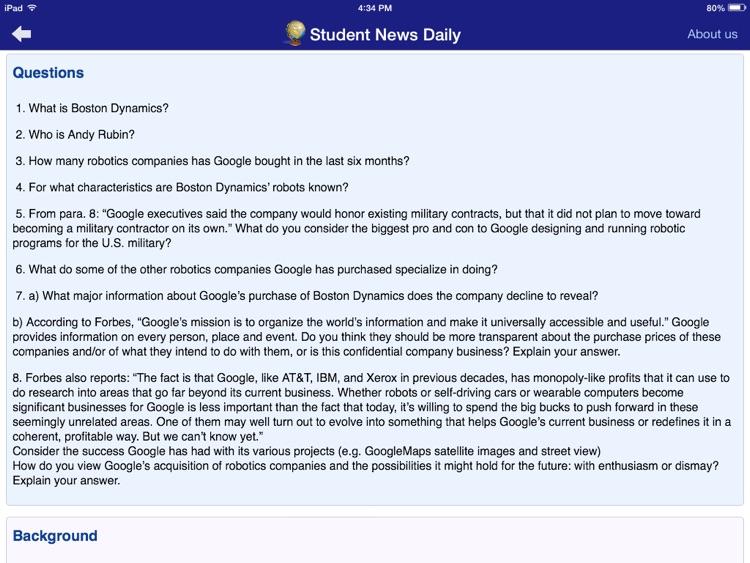 Student News Daily screenshot-3