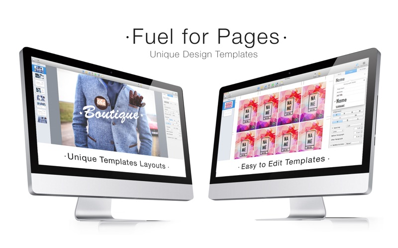 Pages模板合集 Fuel for Pages for Mac