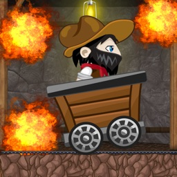 Mine-Cart Shaft Dash Maze Game - California Diamond Cave Escape